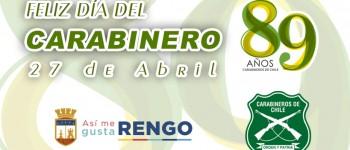 Feliz Aniversario N°89 a la Institución de Carabineros de Chile