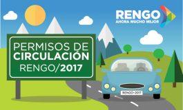 DIRECCIÓN DE TRANSITO DE LA MUNICIPALIDAD DE RENGO INFORMA: YA PUEDES SACAR TU PERMISO DE CIRCULACIÓN 2017