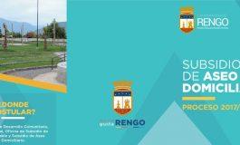 SOLO QUEDAN 11 DIAS HABILES PARA POSTULAR AL SUBSIDIO DE ASEO DOMICILIARIO