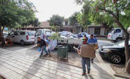 ENTREGA DE AYUDA A LAS LOCALIDADES AFECTADAS TRAS INCENDIOS FORESTALES EN SECANO COSTERO (LOLOL - PAREDONES)