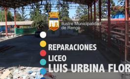 REPARACIONES LICEO LUIS URBINA FLORES (VIDEO)