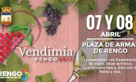 LANZAMIENTO FIESTA DE LA VENDIMIA RENGO 2017