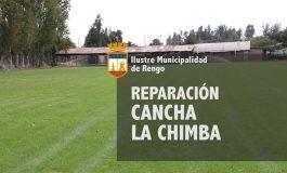 REPARACIÓN CANCHA DE FÚTBOL C.D. INDEPENDIENTE LA CHIMBA (VER VIDEO)