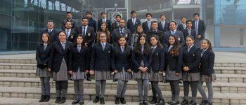 ALUMNOS DE LA ESCUELA REPUBLICA DE ALEMANIA VISITAN ESCUELA DE INVESTIGACIONES EN SANTIAGO