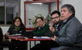 EXITOSA REUNION DE ALCALDE Y SEREMI DE TRANSPORTES JUNTO A DIRIGENTES DE LAS LINEAS DE COLECTIVO DE LA COMUNA