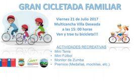 GRAN CICLETADA FAMILIAR