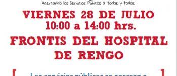 ESTE VIERNES 28 DE JULIO: GOBIERNO PRESENTE, MAS CERCA DE LAS PERSONAS