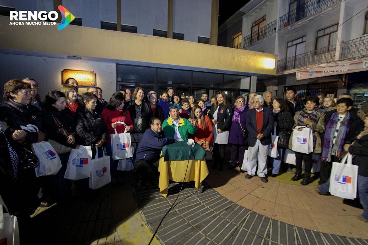 NUEVAS LUMINARIAS LED PARA TODO EL SECTOR RURAL Y PLAZAS DE LA COMUNA DE RENGO