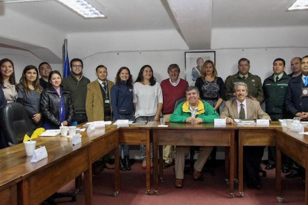 SE FIRMA ACTA DE CONSTITUCION CONSEJO COMUNAL DE SEGURIDAD PUBLICA