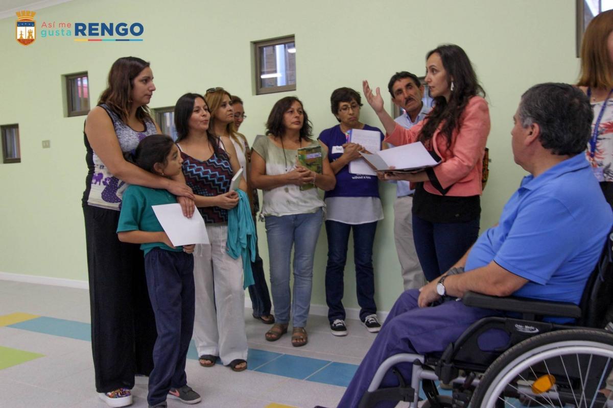 VECINAS VISITAN NUEVO JARDIN INFANTIL ARTURO PRAT DE INTEGRA (VIDEO)