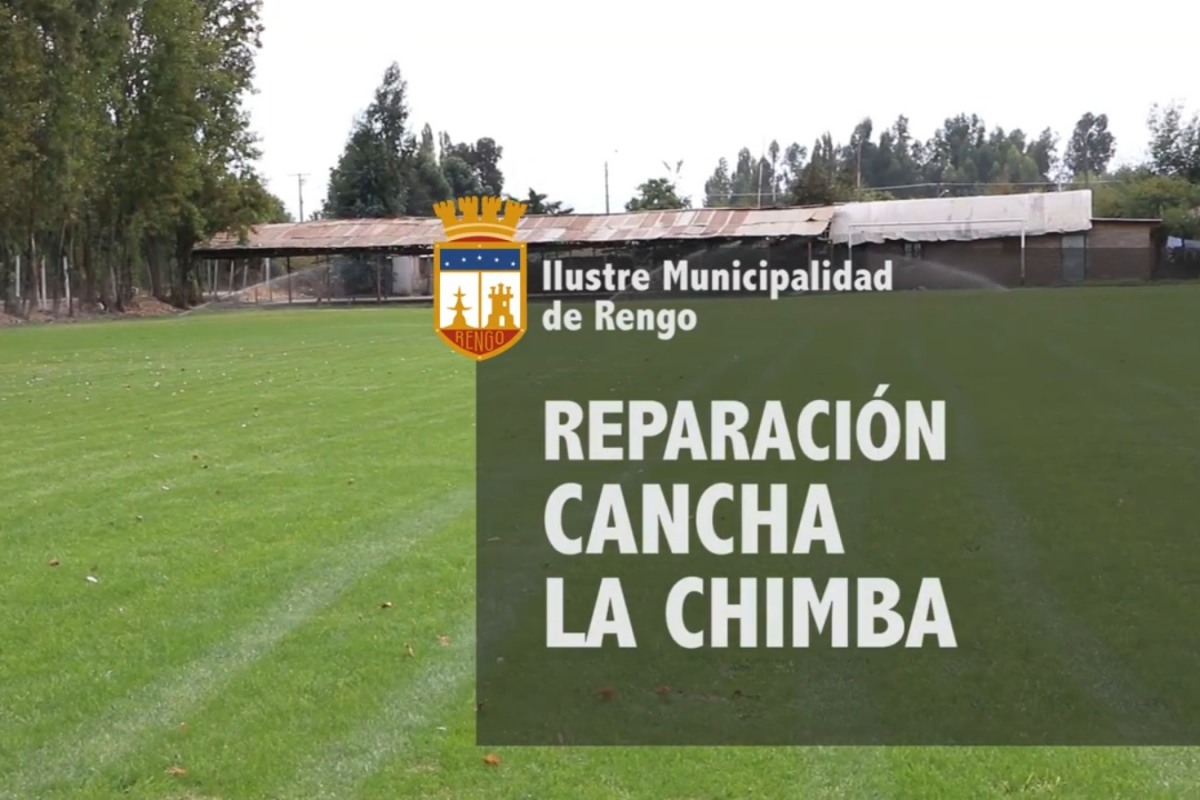 REPARACIÓN CANCHA DE FÚTBOL C.D. INDEPENDIENTE LA CHIMBA (VER VIDEO)