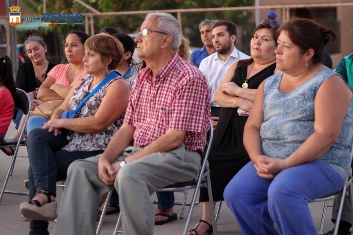 MULTICANCHA DE PASTO SINTETICO PARA POBLACION ALONSO DE ERCILLA DE RENGO