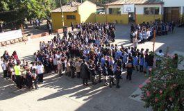 MIL ESTUDIANTES Y DOCENTES DE ESCUELA LUIS GALDAMES PARTICIPARON DE LA OPERACIÓN COOPER