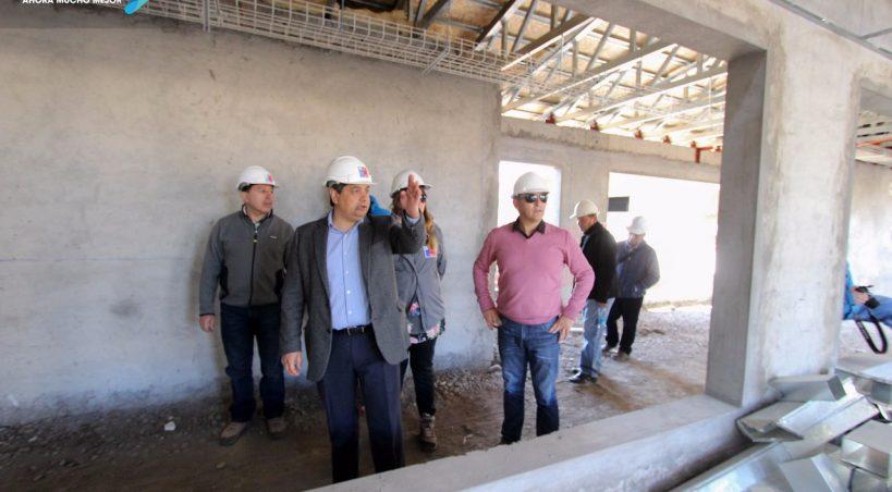 Establecimiento de Larga Estadía para Adultos Mayores en Rengo:ALCALDE VISITA OBRAS DE ELEAM JUNTO A DIRECTOR DE SERVIU Y SEREMI DE DESARROLLO SOCIAL
