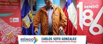 SALUDO FIESTAS PATRIAS ALCALDE CARLOS SOTO (VER VIDEO)