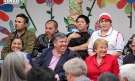 """Jardín Infantil """"La Casa del Árbol"""" de Rengo:  EMOTIVA INAUGURACION SE REALIZO CON LA PRESENCIA DE PRESIDENTA MICHELLE BACHELET"""