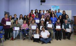 FINALIZA ESCUELA DE DIRIGENTES SOCIALES EN SALUD FAMILIAR EN RENGO