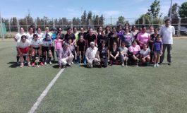 Más de 50 deportistas participaron de este encuentro: MUJERES DE RENGO PARTICIPAN EN EL PRIMER CAMPEONATO DE FUTBOLITO DE LA COMUNA