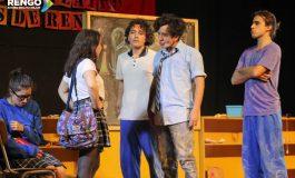 A teatro lleno:SE INAUGURA PRIMER FESTIVAL DE TEATRO ESCOLAR EN RENGO