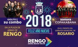 FIESTA DE AÑO NUEVO EN RENGO Y ROSARIO