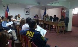 CONSEJO COMUNAL DE SEGURIDAD PÚBLICA TRABAJA MATRIZ DE PLAN COMUNAL DE SEGURIDAD