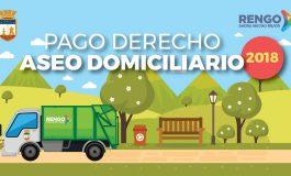 ATENCION COMUNIDAD: PAGO PRIMERA CUOTA ASEO DOMICILIARIO