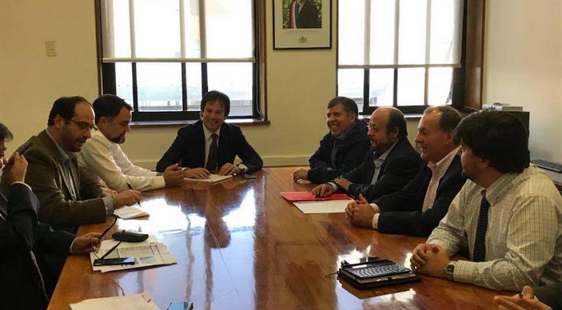"""Alcalde de Rengo y el Embalse El Bollenar:""""Estamos trabajando con antelación para los recursos que Rengo necesita el próximo año""""."""