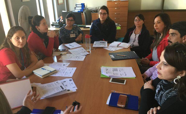 OFICINA OPD RENGO SE REUNE CON PROFESIONALES DE CESFAM