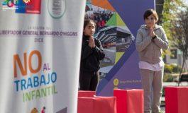 FERIA RED SEMANE SE REALIZO HOY CONTRA EL TRABAJO INFANTIL