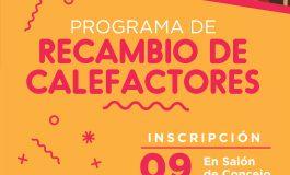 PROGRAMA RECAMBIO DE CALEFACTORES