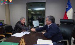 ALCALDE CARLOS SOTO FIRMA CONVENIO DE COLABORACIÓN CON FUNDACIÓN VICTOR JARA