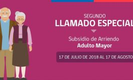 POSTULA AL SUBSIDIO DE ARRIENDO PARA EL ADULTO MAYOR