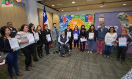 44 FAMILIAS DE RENGO RECIBEN SUSBISIOS DE PATRIMONIO FAMILIAR Y SECTORES EMERGENTE