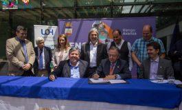 ALCALDE DE RENGO ENTREGA TERRENOS A UNIVERSIDAD DE OHIGGINS PARA LA CONSTRUCCION DE LA ESCUELA DE INGENIERIA