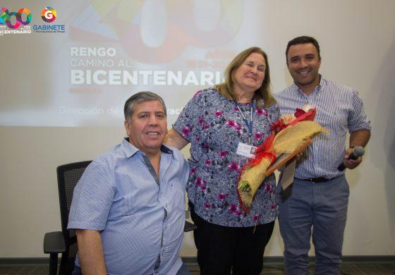 ALCALDE Y CONCEJALES DESPIDEN A LA DIRECTORA DEL CESFAM DE ROSARIO