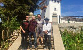 Visita del grupo musical NADIR Ensemble a la Viña Torreón de Paredes