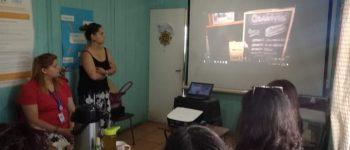 Difusión del Programa en Centro de la Mujer Rengo