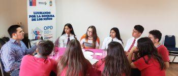 OPD RENGO REALIZA FOCUS GROUP CON ADOLESCENTES DEL CONSEJO DE INFANCIA