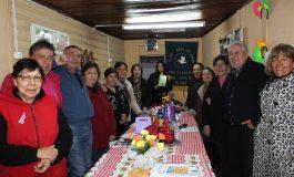 SEGURIDAD PÚBLICA, REALIZA TALLER DE PREVENCIÓN DE INCENDIOS A CLUB DE ADULTO MAYOR PAZ Y ALEGRÍA DE RENGO