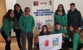 OPD REALIZA TALLER DE PREVENCIÓN CONTRA LA VIOLENCIA EN EL POLOLEO CON ADOLESCENTES DEL CONSEJO DE INFANCIA