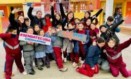 """""""SENDA ITINERANTE"""" INICIA CICLO POR ESTABLECIMIENTOS EDUCACIONALES DE LA COMUNA"""