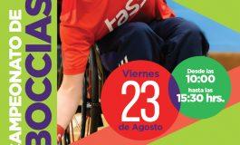 Imperdible este 23 de agosto:CAMPEONATO COMUNAL DE BOCCIAS SE TOMA EL POLIDEPORTIVO DE RENGO CON MAS DE 230 DEPORTISTAS