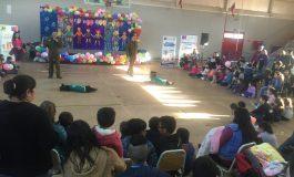 OPD CELEBRO EL DIA DEL NIÑO CON 250 PEQUEÑOS DE LA COMUNA