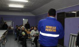 SEGURIDAD PÚBLICA Y UNIDAD DE MEDIACIÓN VECINAL Y COMUNITARIA SE REÚNEN CON VECINOS SECTOR EL NARANJAL NORTE