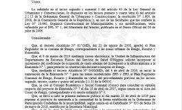 MUNICIPALIDAD DE RENGO APRUEBA ENMIENDA N° 7 AL PLAN REGULADOR COMUNAL