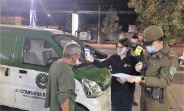 PERSONAL DEL MUNICIPIO DE RENGO EN CONJUNTO A CARABINEROS VISITARON A MAS DE 36 PERSONAS EN SITUACIÓN DE CALLE