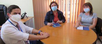 Director del Hospital de Rengo se reúne con representantes de Organizaciones Sociales