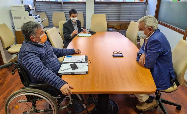 Alcalde Carlos Soto se reúne con nuevo Gobernador Regional deO'Higgins, Pablo Silva Amaya