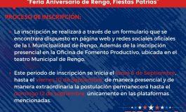"""""""Feria Aniversario de Rengo, Fiestas Patrias"""""""