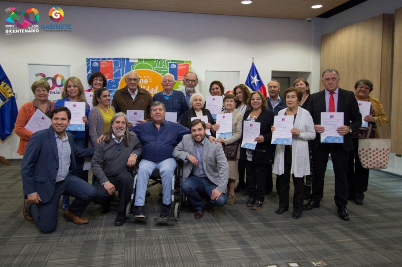 46 FAMILIAS DE RENGO RECIBEN SUBSIDIO PARA SECTORES MEDIOS Y MEJORAMIENTO PARA COMITÉ DOMINGO PAREDES